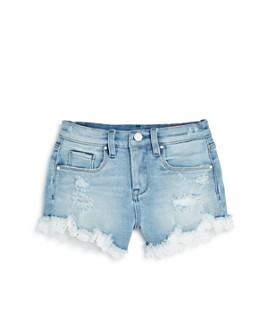 BLANKNYC - Girls' Lace Trim Shorts - Big Kid