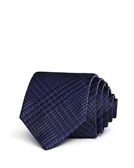 John Varvatos Star USA - Glen Check Classic Tie