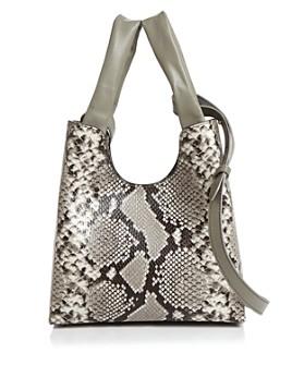 Elleme - Snake-Print Shoulder Bag