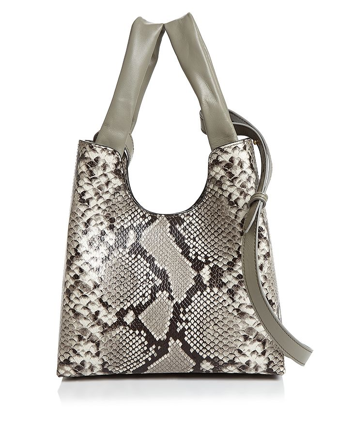 Elleme - Snake-Print Shoulder Bag