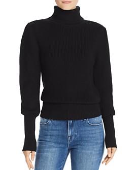 FRAME - Bishop-Sleeve Turtleneck Sweater