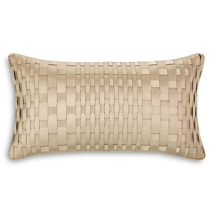 "Hudson Park Collection - Luxe Frame Decorative Pillow, 12"" x 22"" - 100% Exclusive"