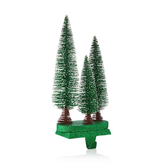 Christmas Tree Stocking Holder.Glitter Sisal Christmas Tree Stocking Holder 100 Exclusive