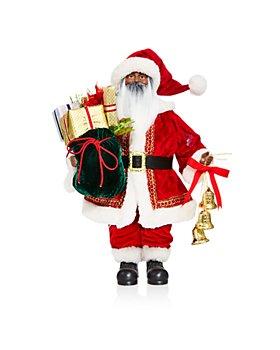 Bloomingdale's - Gifting Santa Figurine - 100% Exclusive
