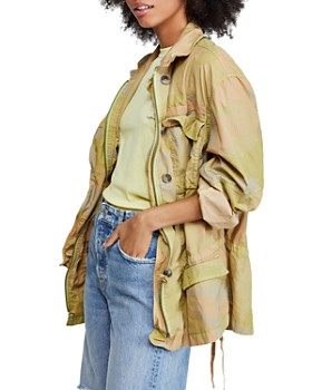 Free People - Lead The Way Camo Jacket