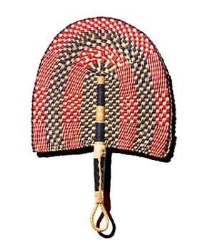 All Across Africa - Checkered Ghanaian Fan