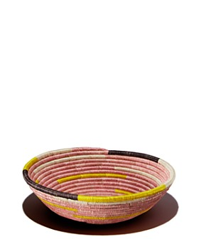 All Across Africa - Medium Spiral Bowl