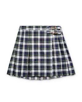 Ralph Lauren - Girls' Plaid Madras Skirt - Big Kid