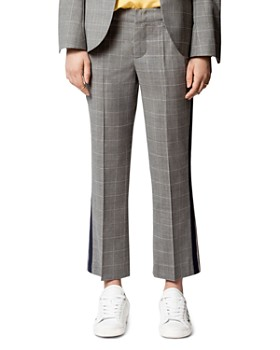 Zadig & Voltaire - Posh Check Cropped Pants