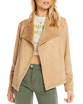 CHASER - Faux Suede Jacket