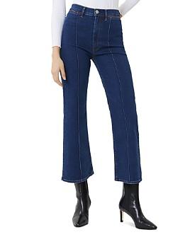 3x1 - Nicolette High-Rise Kick Flare Jeans in Clio