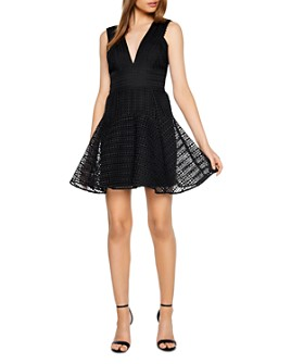 Bardot - Lacey Fit-and-Flare Dress
