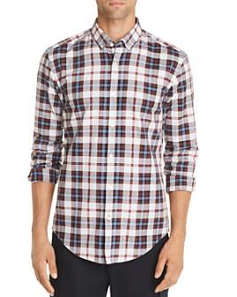 BOSS - Rikard Slim Fit Plaid Shirt