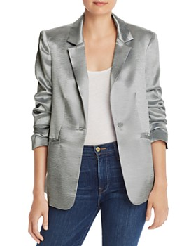 Cinq à Sept - Kylie Metallic Satin Jacket