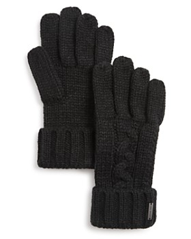 Michael Kors - Cable-Knit Cuff Gloves