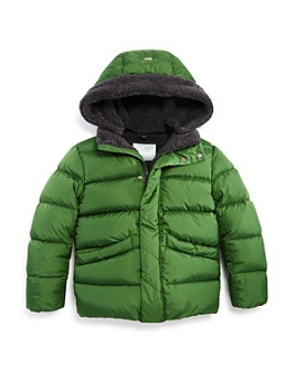 Herno - Unisex Fleece-Lined Puffer Coat - Big Kid