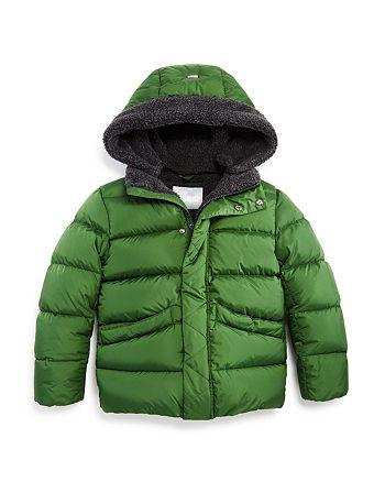 Herno - Unisex Fleece-Lined Puffer Coat - Big Kid