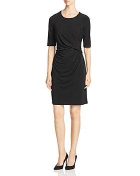 NIC and ZOE - Fundamental Drape-Front Dress
