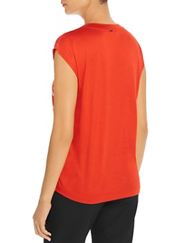 BOSS - Elaida Silk-Front Top