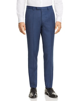 HUGO - Hesten Birdseye Slim Fit Dress Pants