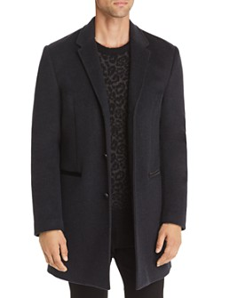 John Varvatos Star USA - Devin Wool-Blend Top Coat - 100% Exclusive