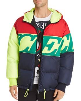 Iceberg - Colorblock Logo Puffer Jacket