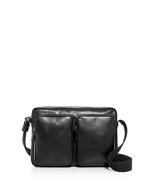Longchamp Baxi Leather Messenger Bag