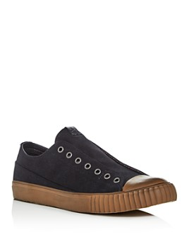 John Varvatos Bootleg - Men's Canvas Low-Top Sneakers