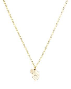 "MIANSAI - Dove Pendant Necklace, 12"""
