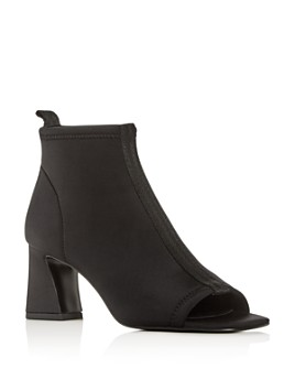 Donald Pliner - Women's Vani Open-Toe High-Heel Booties