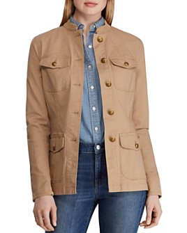 Ralph Lauren - Cotton Stretch Military Jacket