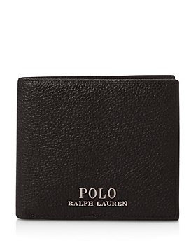 Polo Ralph Lauren - Pebbled Leather Billfold Wallet