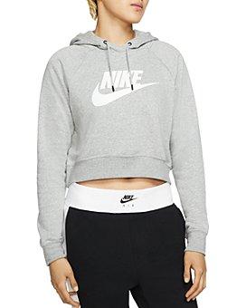 Nike - Essential Cropped Hooded Sweatshirt