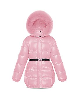 Moncler - Girls' Parana Fur-Trimmed Puffer Jacket - Little Kid