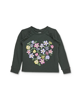 Mini Series - Girls' Esther Flower Sweatshirt, Little Kid - 100% Exclusive