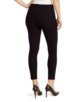 Ella Moss - Destructed High Rise Skinny Ankle Jeans in Noir