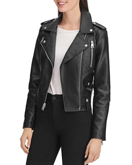Levi's - Faux Crocodile Moto Jacket