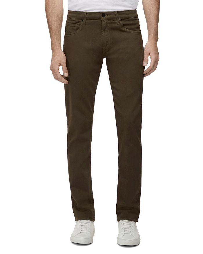 J Brand Men's Tyler Slim-fit Jeans - Seriously Soft Stretch Twill In Green