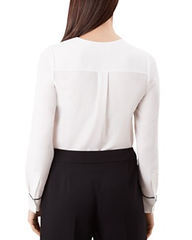 HOBBS LONDON - Beth Piped Blouse
