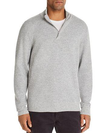 The Men's Store at Bloomingdale's - Marled Half-Zip Sweater - 100% Exclusive