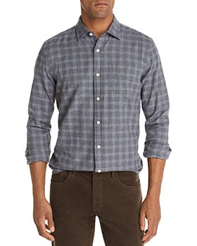 The Men's Store at Bloomingdale's - Check-Print Classic Fit Flannel Shirt - 100% Exclusive