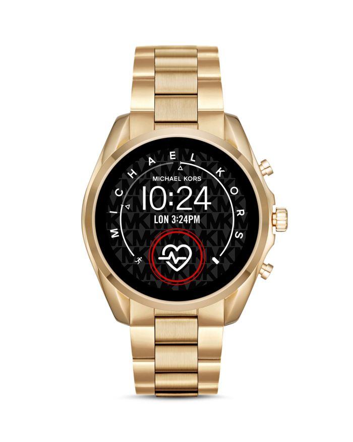Michael Kors Bradshaw 2 Link Bracelet Touchscreen Smartwatch, 44mm  | Bloomingdale's