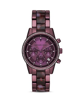 Michael Kors - Ritz Purple Chronograph, 37mm