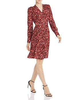 Equipment - Jenesse Leopard-Print Wrap Dress