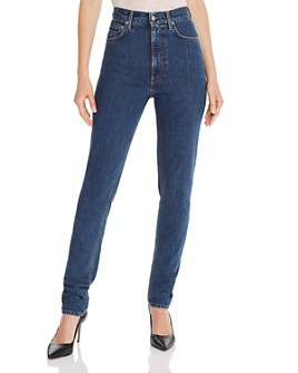 Helmut Lang - Femme Hi Spikes Jeans in Mid Stone