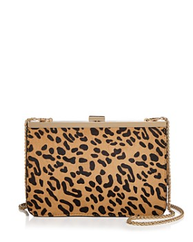 AQUA - Leopard-Print Frame Crossbody - 100% Exclusive