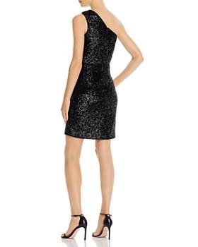 AQUA - Sequined One-Shoulder Cocktail Dress - 100% Exclusive