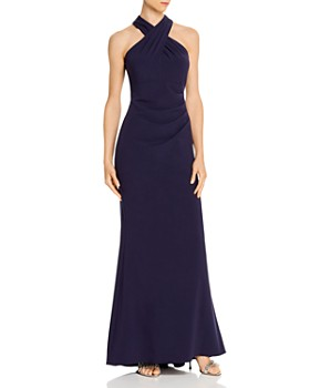 Eliza J - Cross Halter Gown