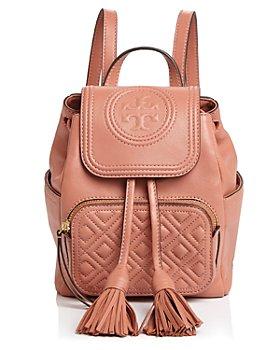 Tory Burch - Fleming Mini Leather Backpack