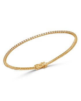 Bloomingdale's - Diamond Stackable Tennis Bracelets in 14K Yellow Gold, 14k Rose Gold & 14k White Gold - 100% Exclusive